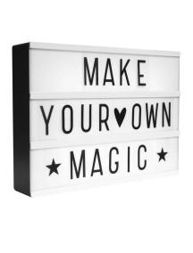Наборное световое панно LightBox / a Little Lovely Company