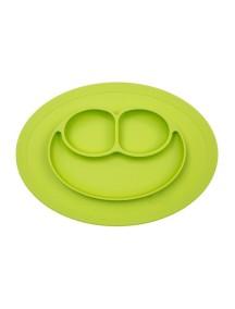 ИзиПизи веселая тарелка-мат для еды Ezpz Happy Mat Lime / зеленый