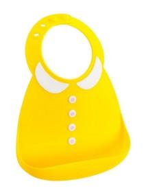 Детский нагрудник Baby Bib - Peter Pan Collar / Желтый