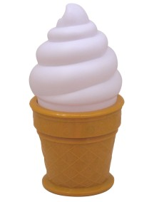 "Детский ночник ""Белое огромное мороженое"" Huge Ice Cream / a Little Lovely Company"