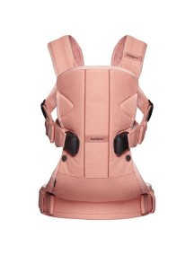 """BabyBjorn """"One Cotton"""" Многофункциональный рюкзак-кенгуру для ношения ребёнка на груди и на спине, Коралловый краб"""