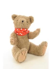 Элегантный шарфик-слюнявчик Снуди | Snoodie - красный