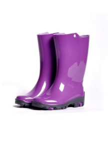Детские резиновые сапоги Nordman RAIN, р. 26/27 фиолетовые