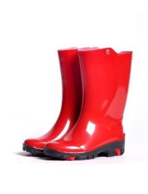 Детские резиновые сапоги Nordman RAIN, красные