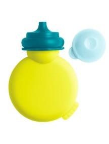 """Beaba """"Babypote"""" Контейнер для пюре из силикона / Neon - Blue"""