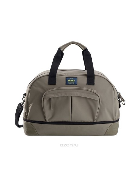 "Beaba ""Changing Bag Amsterdam 2"" Стильная вместительная сумка для мамы  / Taupe - Black"