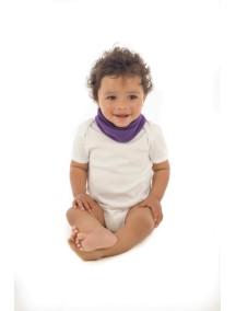 Элегантный шарфик-слюнявчик Снуди | Snoodie - фиолетовый