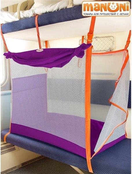 ЖД-манеж в поезд для детей Manuni (от 0 до 3 лет)