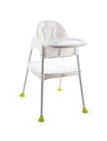 """FunKids """"Eat And Play"""" Детский универсальный стул для кормления и занятий , Белый"""