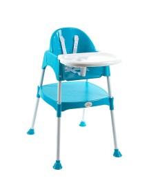 """FunKids """"Eat And Play"""" Детский универсальный стул для кормления и занятий , Синий"""