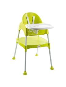 """FunKids """"Eat And Play"""" Детский универсальный стул для кормления и занятий , Салатовый"""