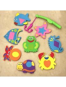 "Funkids ""WaterFun"" Набор игрушек для купания (с удочкой)"