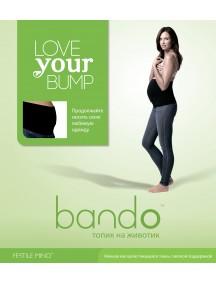 Топик на животик для беременных Bando (Бандо) -  черный