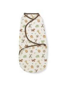 """Summer Infant """"SwaddleMe"""" Конверт для пеленания с рождения и до 6-х месяцев / Джунгли, S/M"""