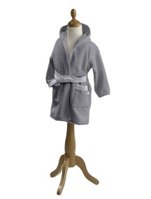 """Red Castle """"Bathrobe"""" Детский махровый халат от 12 до 24 месяцев  / Grey-White"""
