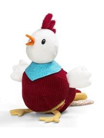Петушок Джон: мягкая игрушка-книжка Lilliputiens (Бельгия)