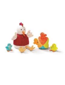 Курочка Офелия и ее цыплятки Lilliputiens (Бельгия)