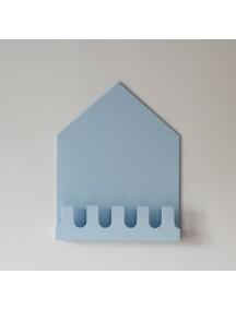 Полка-домик Munich голубой