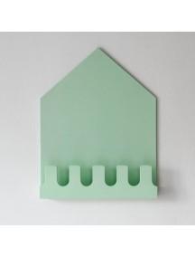 Полка-домик Munich зеленый