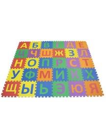 """FunKids """"Алфавит-2"""" Игровой коврик-пазлы 12"""" с русским алфавитом толщина 15 мм (30 плит)"""