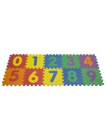 "Funkids ""Цифры-2"" Игровой коврик-пазлы 12"" с цифрами толщина 15 мм (набор из 10 плит)"