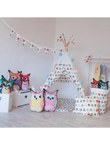 Вигвам ручной работы для детей Веселая Совушка, Funky Owl
