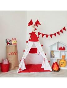 Вигвам ручной работы для детей Симпл Ред, Simple Red