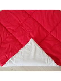 Стеганый плед для вигвама Красный, Simple Red