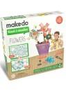 """Конструктор MAKEDO """"Подумай и сделай цветок"""", 33 детали"""