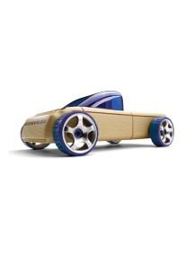 Конструктор-автомобиль T9 Фиолетовый Пикап. Серия мини. (Automoblox minis) AUTOMOBLOX/Автомоблокс