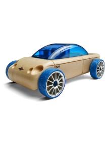 Конструктор-автомобиль S9 Синий Седан. Традиционный модельный ряд. (Automoblox originals). AUTOMOBLOX/Автомоблокс
