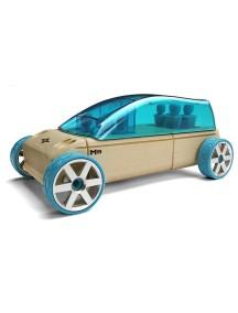 Конструктор-автомобиль M9 Бирюзовый Спортивный Фургон. Традиционный модельный ряд. (Automoblox originals) AUTOMOBLOX/Автомоблокс