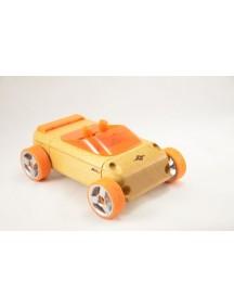 Конструктор-автомобиль A9-S Оранжевый Кабриолет. Традиционный модельный ряд. (Automoblox originals) AUTOMOBLOX/Автомоблокс