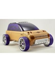 Конструктор-автомобиль X9-X Фиолетовый Спорт-Универсал. Традиционный модельный ряд. (Automoblox originals) AUTOMOBLOX/Автомоблок