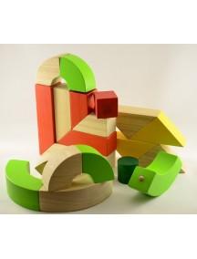 Деревянный конструктор Вращающиеся Блоки PLAN TOYS/Плэн Тойс