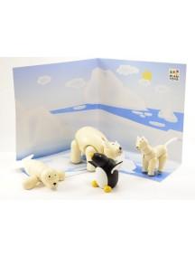 Набор Животные Севера PLAN TOYS/Плэн Тойс