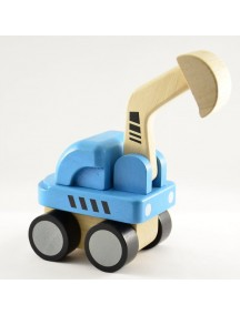 Деревянная игрушка экскаватор PLAN TOYS/Плэн Тойс
