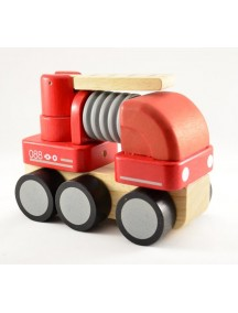 Деревянная игрушка пожарная машина PLAN TOYS/Плэн Тойс