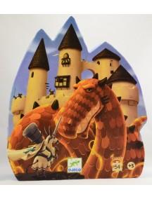 Пазл Замок дракона (54 детали) Djeco/Джеко