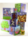 Кубики-пирамида Картинки (10 кубиков) Djeco/Джеко