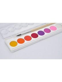 Краски гуашь 8 пастельных цветов Djeco/Джеко