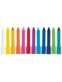 Набор акварельных пастельных карандашей (12 штук) Djeco/Джеко