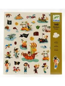 160 наклеек Пираты Djeco/Джеко