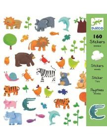 160 наклеек Домашние животные Djeco/Джеко