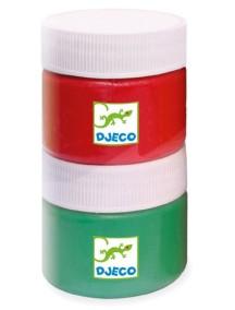 Набор пальчиковых красок (6 цветов) Djeco/Джеко