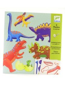 Набор движущихся фигурок Динозавры Djeco/Джеко