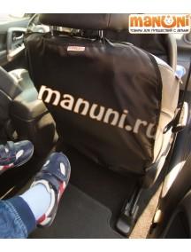 Накидка-защитка для спинки переднего сиденья автомобиля / Манюни (без карманов)