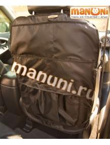 Накидка-защитка для спинки переднего сиденья автомобиля / Манюни (органайзер)