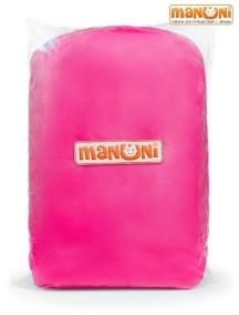 ЖД-манеж в поезд для детей Manuni от 3 лет розовый (3 стенки +шторка)