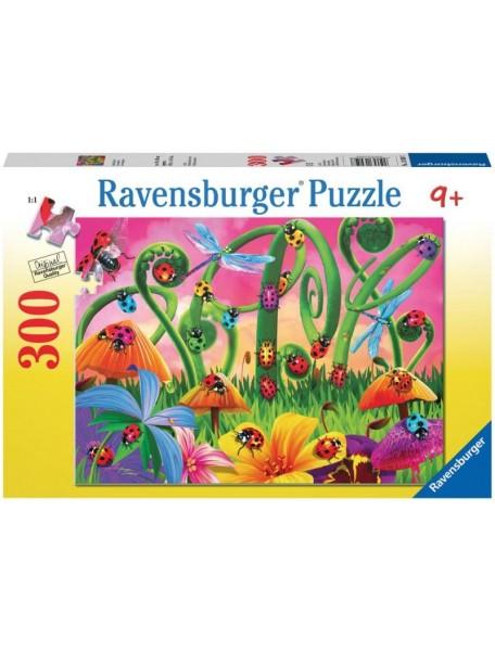 Пазл Страна Божьих коровок (300 деталей) Ravensburger/Равенсбургер
